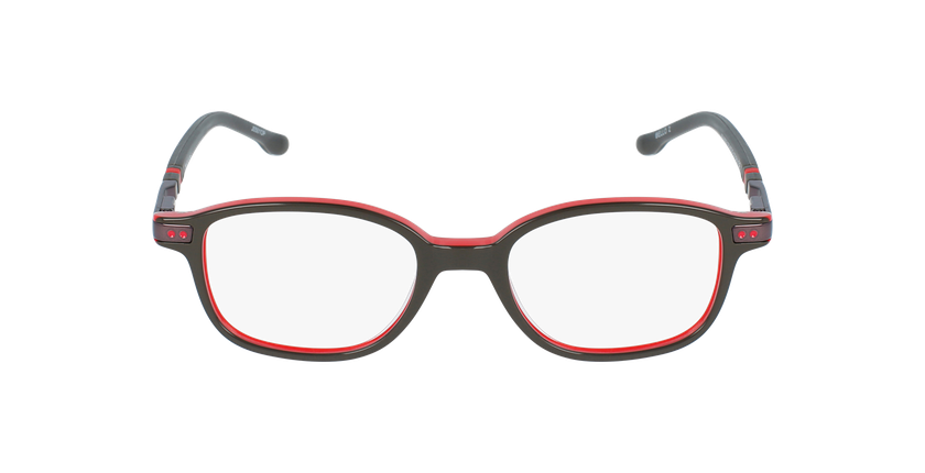 Gafas graduadas niños BELLO2 gris - vista de frente