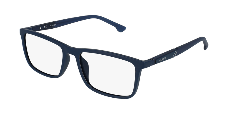 Gafas graduadas hombre VPL877 azul/azul