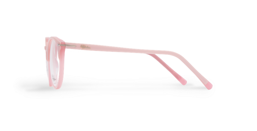 Gafas graduadas mujer OYONNAX rosa - vista de lado