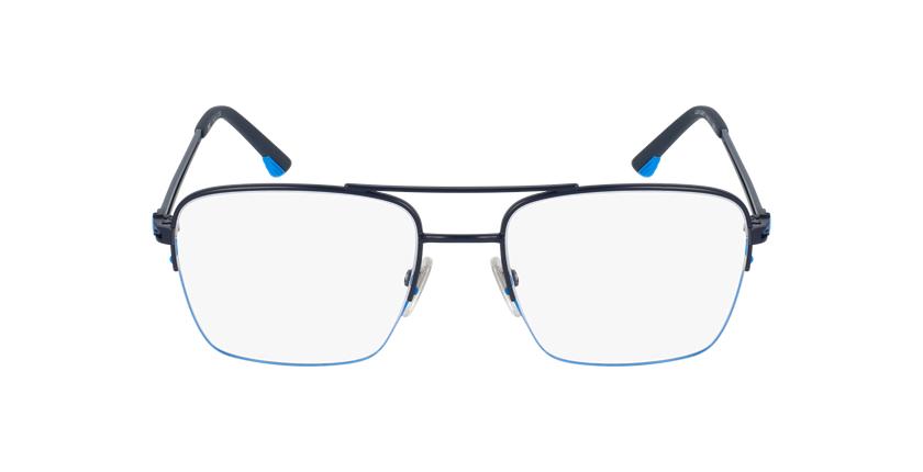 Gafas graduadas hombre VPL879 azul/negro - vista de frente