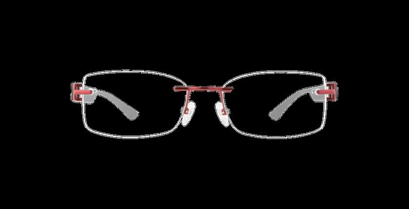 Gafas graduadas mujer MIX TONIC 09 rojo - vista de frente