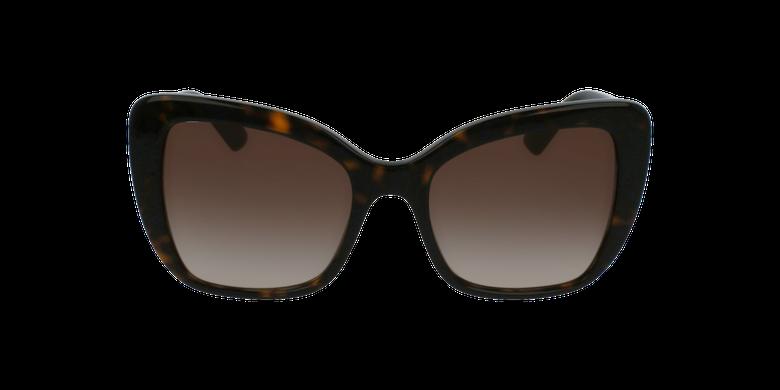 Gafas de sol mujer 0DG4348 marrónvista de frente