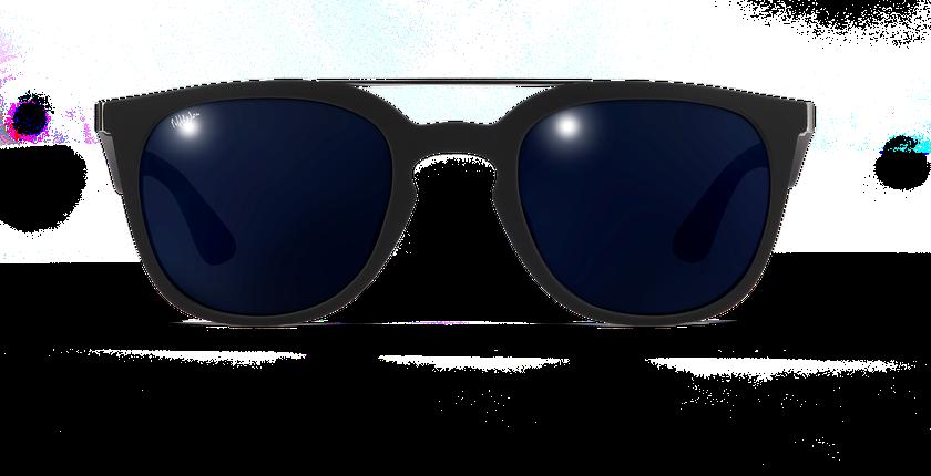 Gafas de sol hombre CAGLIARI POLARIZED negro - vista de frente