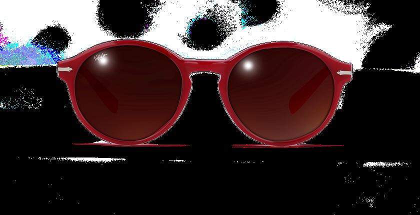 Gafas de sol mujer POSEIDON rosa - vista de frente