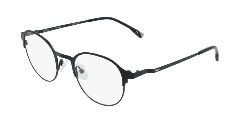 Gafas graduadas hombre MAGIC 53 BLUEBLOCK negro - vue de 3/4