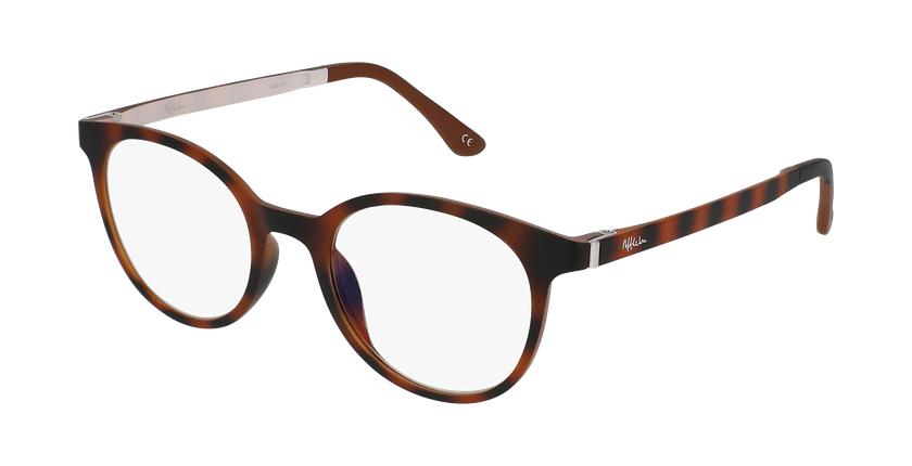 Gafas graduadas mujer MAGIC 36 BLUE BLOCK carey/beige - vue de 3/4
