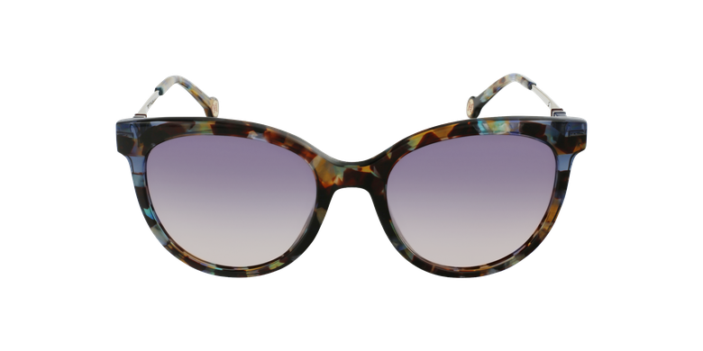 Gafas de sol mujer SHE865 marrón/verde