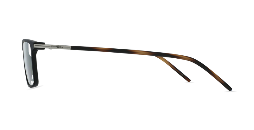 Gafas graduadas hombre MAGIC 72 negro/carey - vista de lado