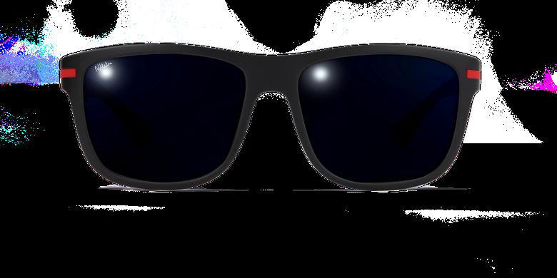 Gafas de sol hombre DIEGO negrovista de frente
