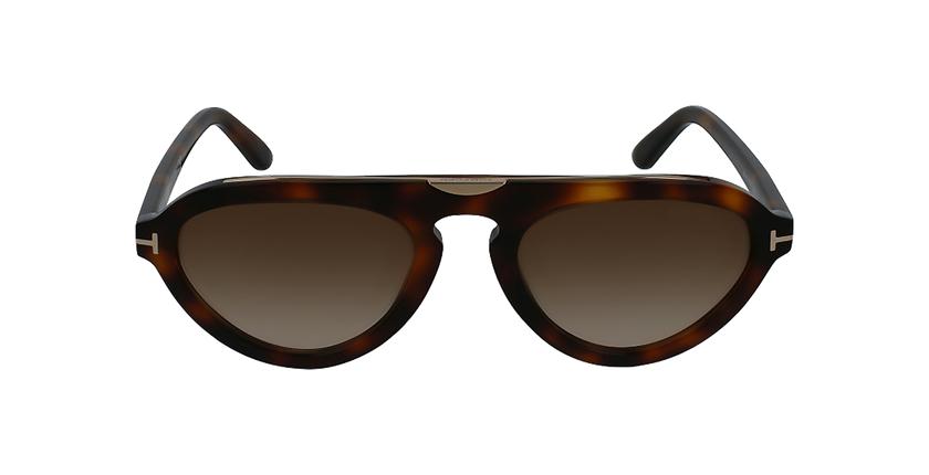 Gafas de sol hombre EUGENIO marrón - vista de frente