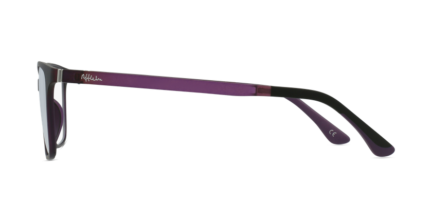 Gafas graduadas mujer MAGIC 60 BLUEBLOCK morado - vista de lado