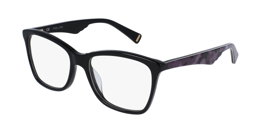 Gafas graduadas mujer VPL415N negro/carey - vue de 3/4