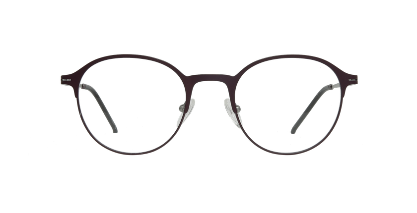 Gafas graduadas mujer XENON morado/plateado - vista de frente