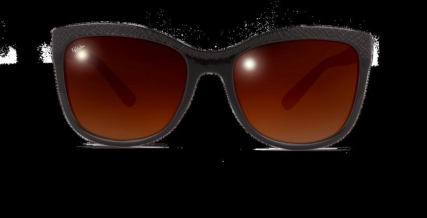 Gafas de sol mujer ELVIRA marrón - vista de frente