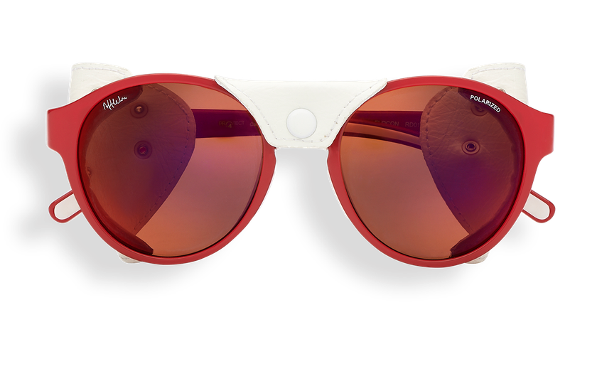 Gafas de sol mujer FLOCON rojo - danio.store.product.image_view_face