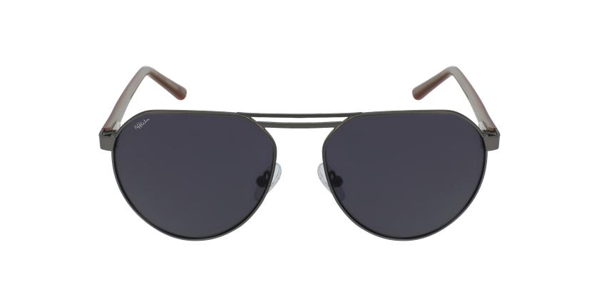 Gafas de sol hombre ALVIN gris - vista de frente