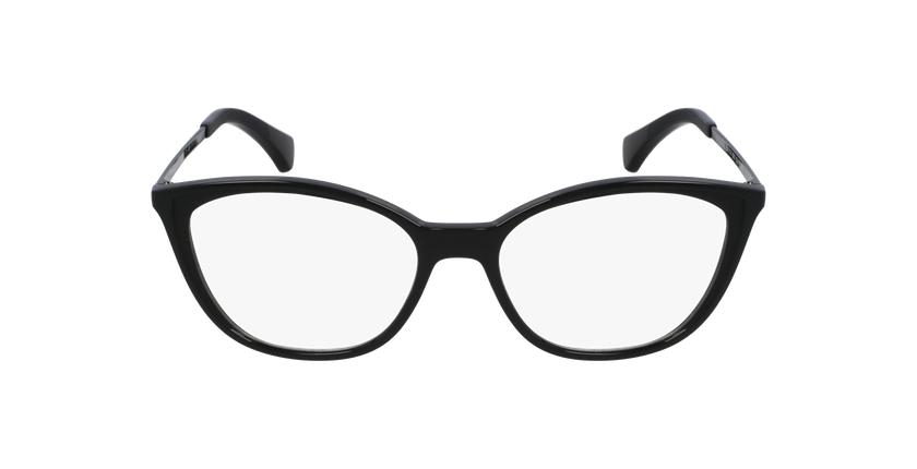 Gafas graduadas mujer RA7114 negro/negro - vista de frente