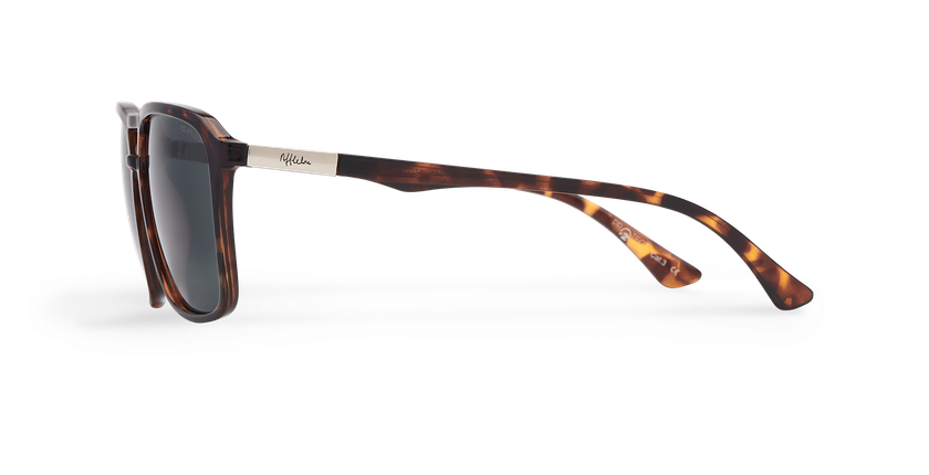 Gafas de sol hombre TAVERIO POLARIZED carey - vista de lado