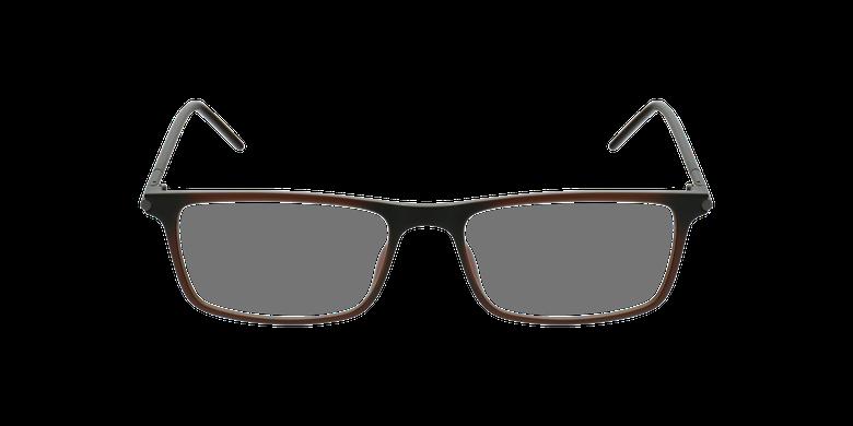 Gafas graduadas hombre MAGIC 72 marrónvista de frente