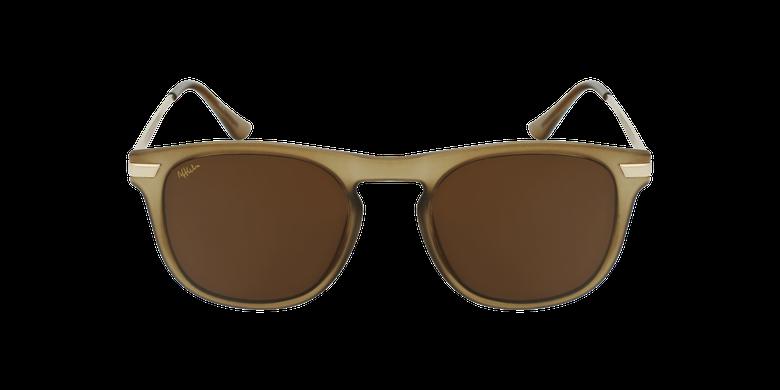 Gafas de sol hombre BENALI marrón/doradovista de frente
