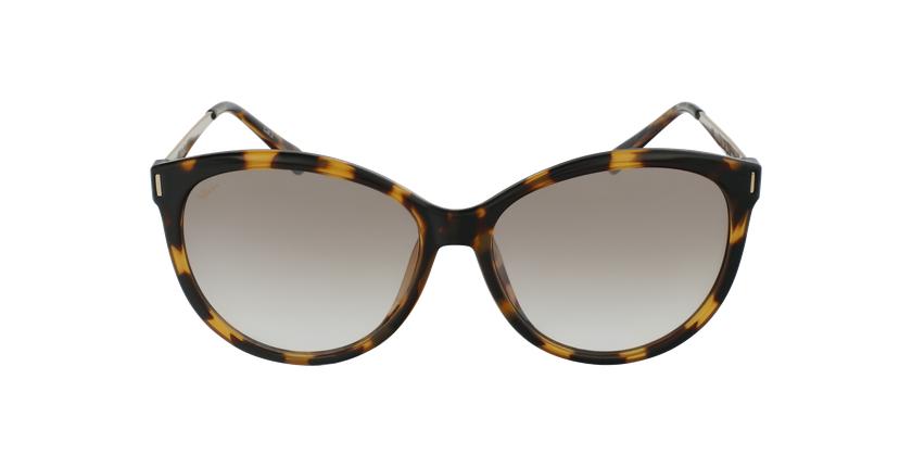 Gafas de sol mujer ZAFRA carey/dorado - vista de frente