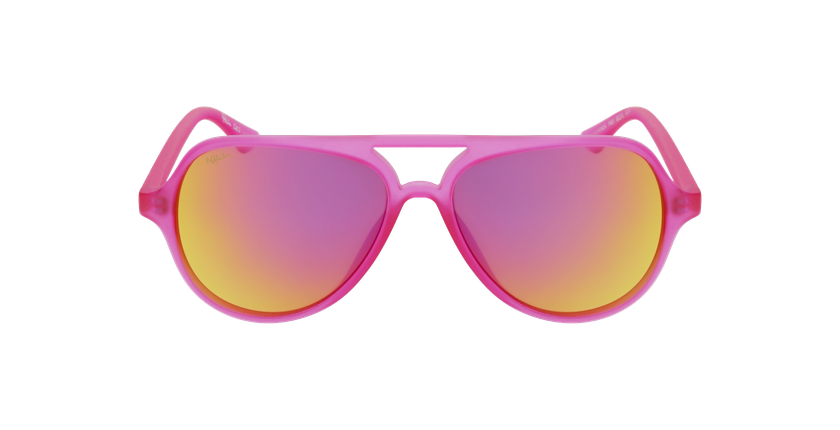 Gafas de sol niños RONDA rosa - vista de frente