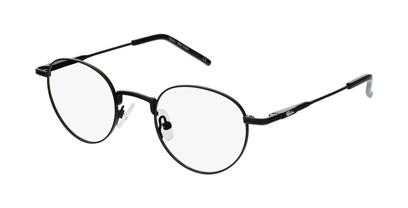 Gafas graduadas CLEO negro - vue de 3/4