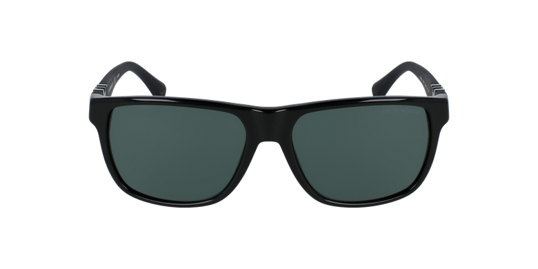 Gafas de sol 0EA4035 negrovista de frente