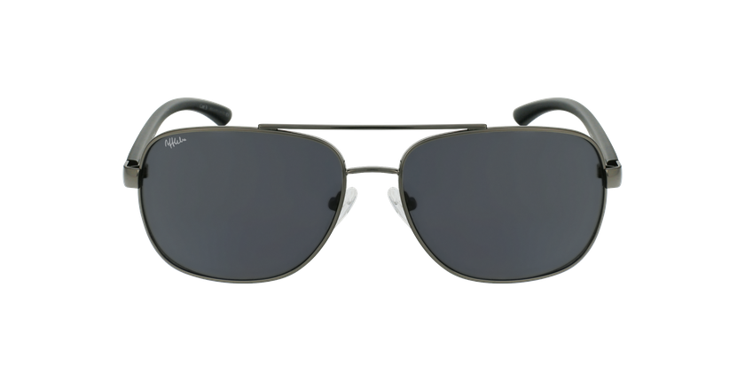 Gafas de sol hombre CRUZ negro/gris - vista de frente