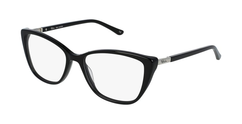 Gafas graduadas mujer ALISON negro - vue de 3/4