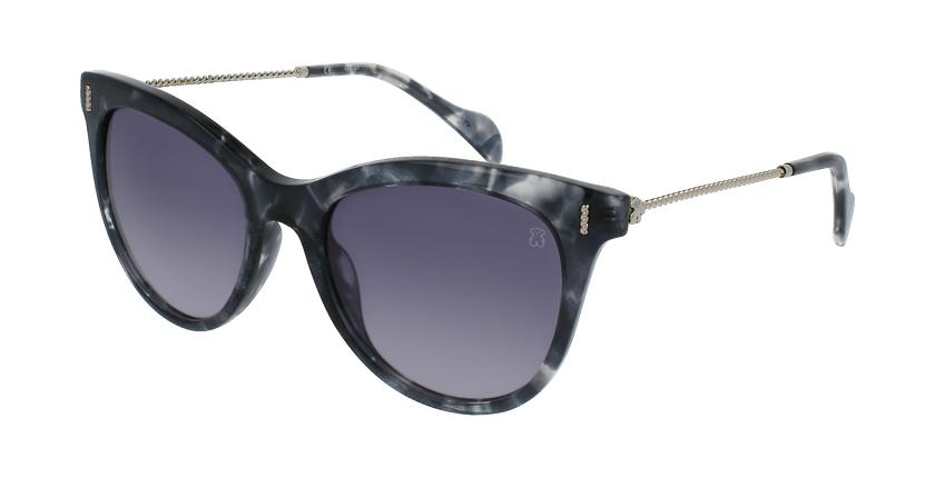 Gafas de sol mujer STOA32 negro/blanco - vue de 3/4