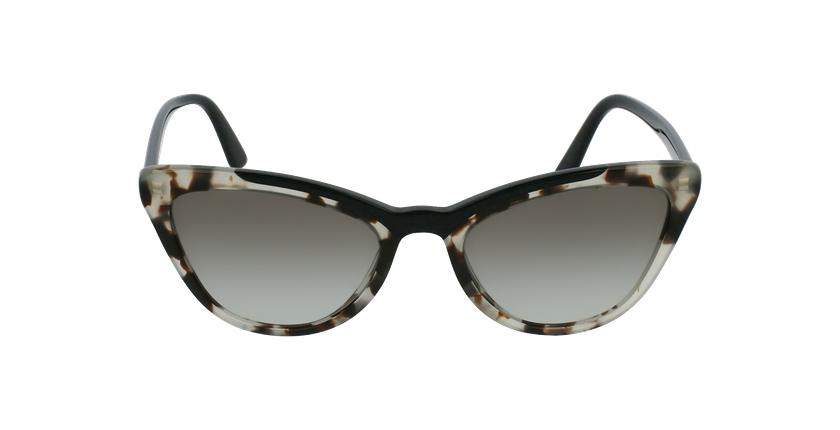 Gafas de sol mujer 0PR 01VS negro - vista de frente