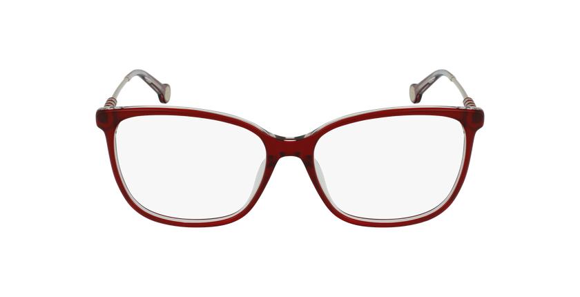 Gafas graduadas mujer VHE852 rojo/rojo - vista de frente