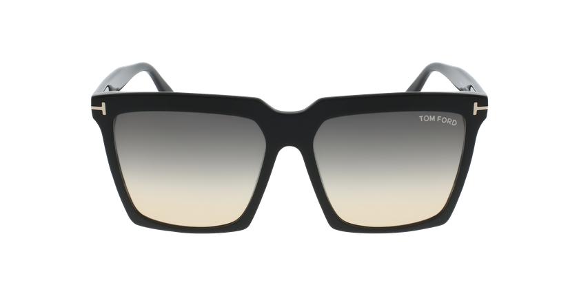 Gafas de sol mujer SABRINA-02 negro - vista de frente