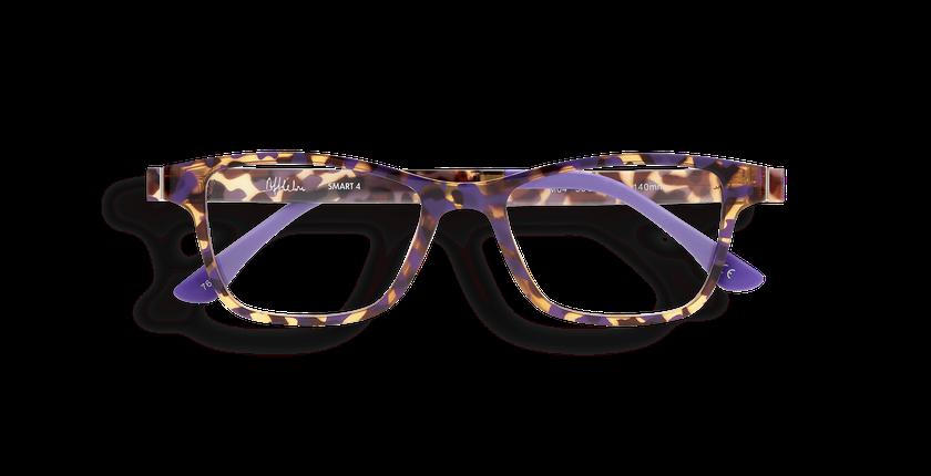 Gafas graduadas mujer MAGIC 04 carey/carey morado - vista de frente