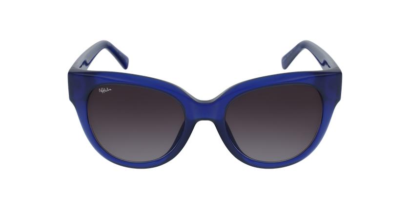 Gafas de sol mujer BRITANY azul - vista de frente