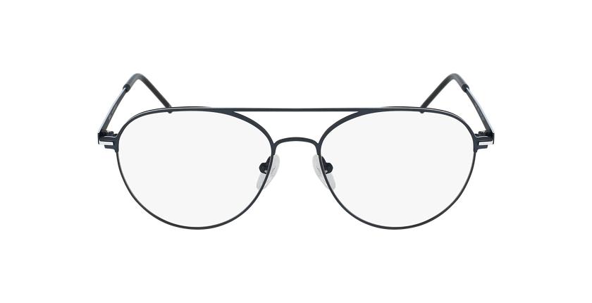 Gafas graduadas hombre MERCURE azul/blanco - vista de frente