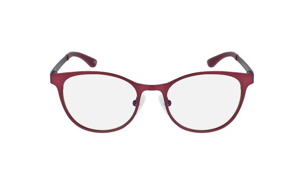 Gafas graduadas mujer MAGIC 45 BLUEBLOCK rojo/rosa - vista de frente