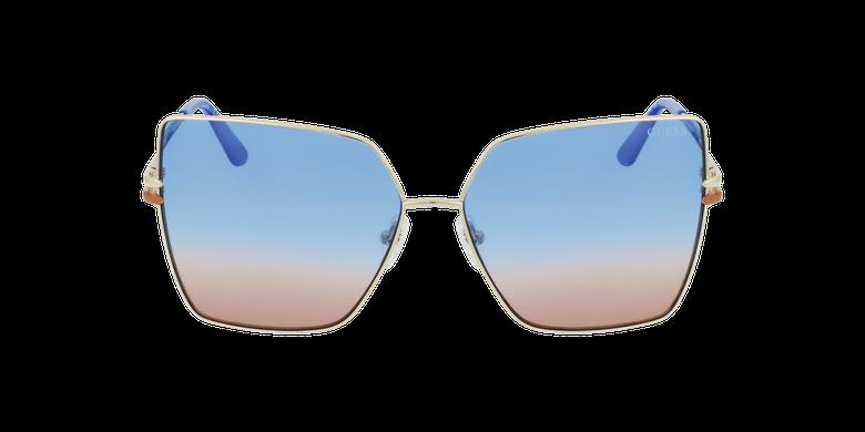 Gafas de sol mujer GU7733 doradovista de frente