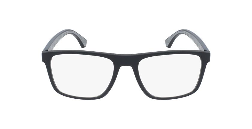 Gafas graduadas hombre EA 3159 negro/negro - vista de frente