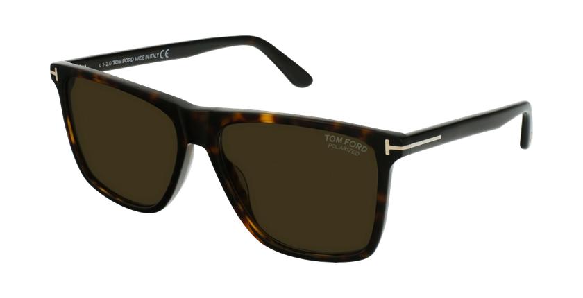 Gafas de sol hombre FT0832 marrón - vue de 3/4