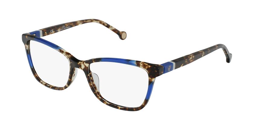 Gafas graduadas mujer VHE856V azul/carey - vue de 3/4