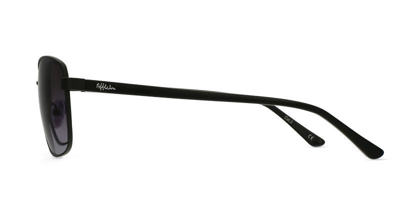 Gafas de sol hombre AMIR negro - vista de lado