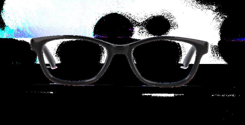 Gafas graduadas mujer ADELIE negro - vista de frente