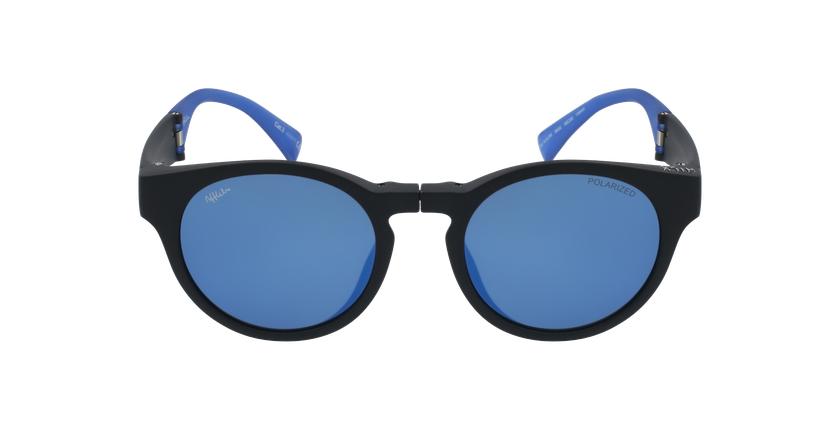 Gafas de sol mujer SLALOM negro/azul - vista de frente