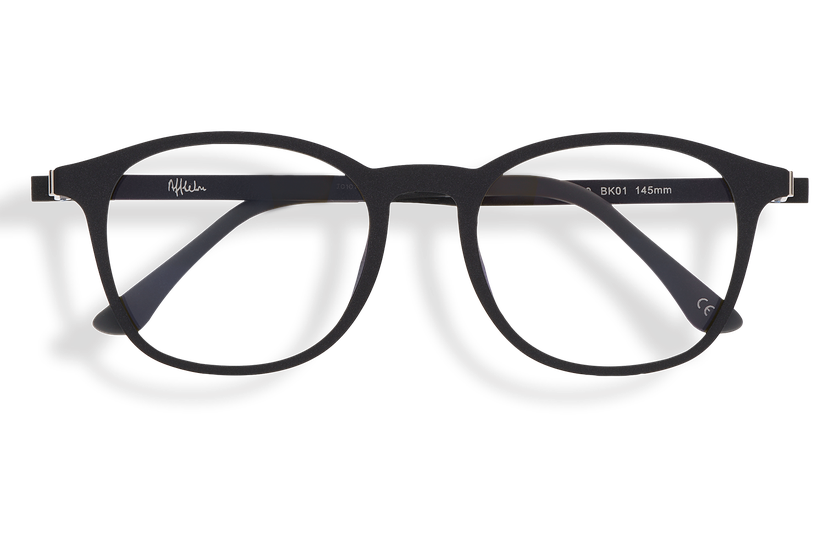Gafas graduadas hombre MAGIC 25 BLUE BLOCK negro - danio.store.product.image_view_face