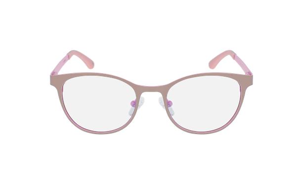 Gafas graduadas mujer MAGIC 45 BLUEBLOCK gris/rosa - vista de frente