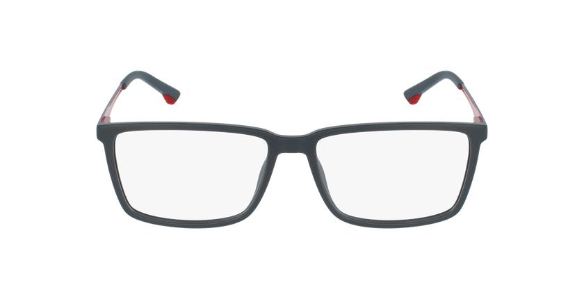Gafas graduadas hombre VPL949 gris/rojo - vista de frente