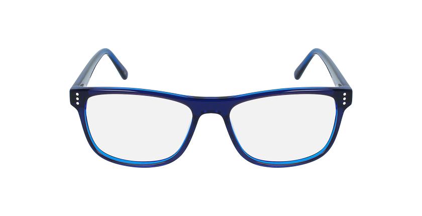 Gafas graduadas hombre HECTOR azul - vista de frente