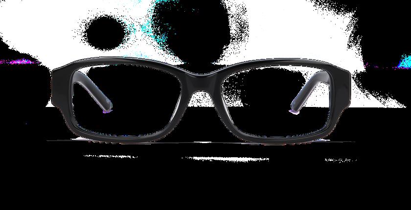Gafas graduadas mujer CHANTAL negro - vista de frente
